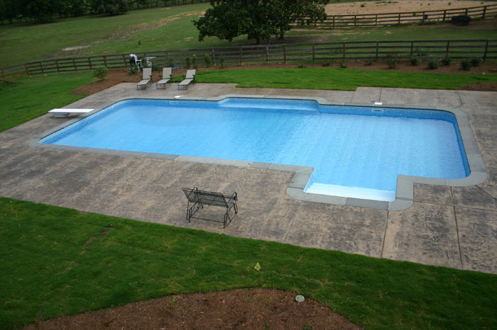 Vinyl Liner Swimming Pool Pictures Pamlico Pool Company