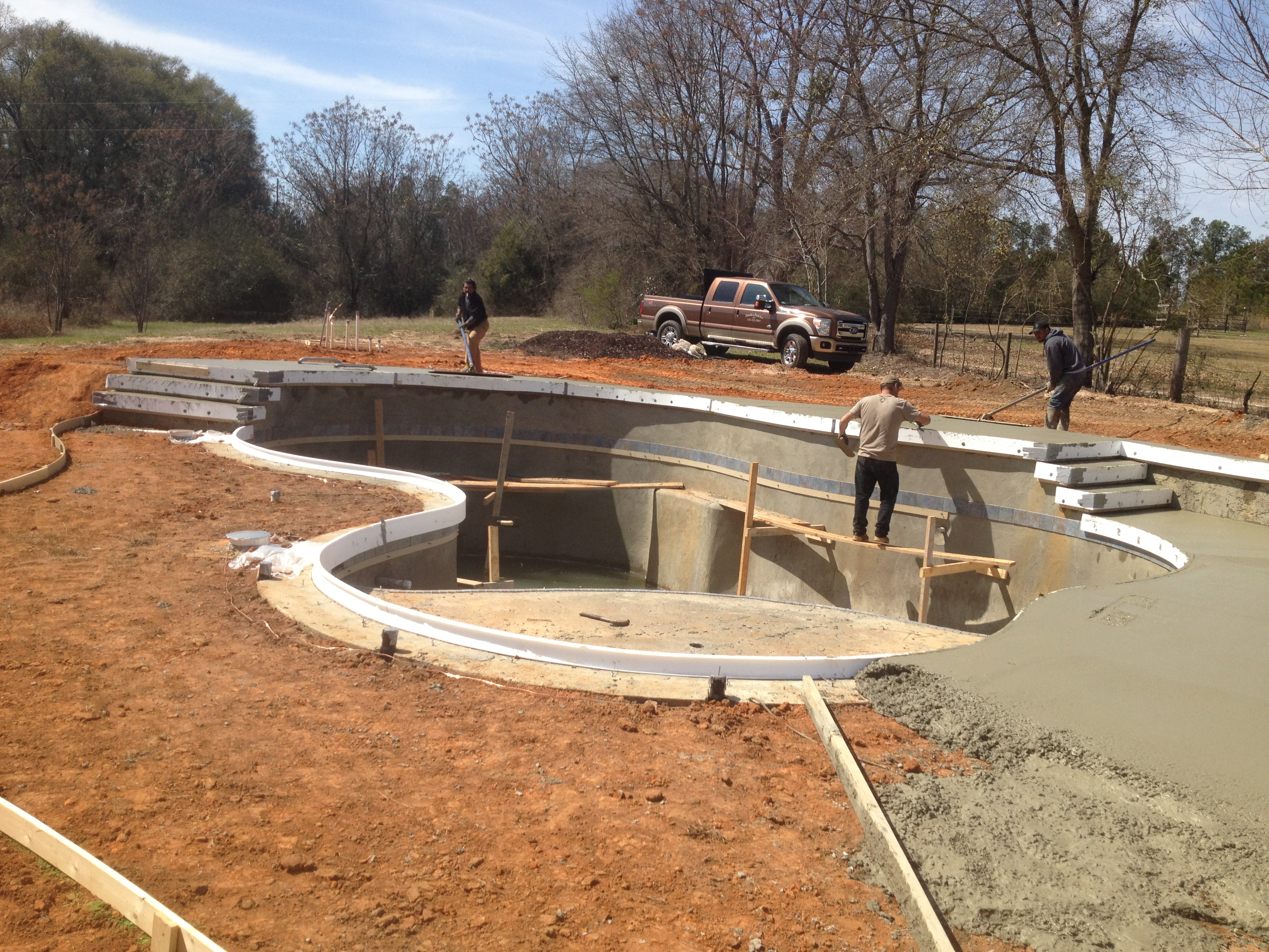 Swimming pool builder madison ga pamlico pool company for Concrete home builders in georgia